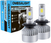 Лампа LED Omegalight Standart H7 2400lm